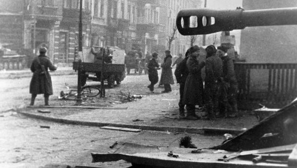 Wojska radzieckie w Gdańsku, 1945 rok - Sputnik Polska
