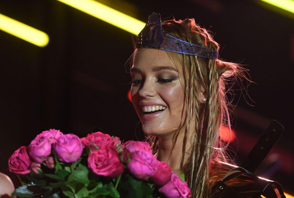 Zwyciężczyni konkursu Miss Maxim 2017 w Moskwie Jekaterina Kotaro z Szadrinska