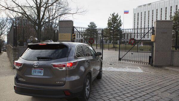Ambasada Rosji w Waszyngtonie - Sputnik Polska