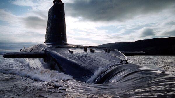 Brytyjski okręt podwodny HMS Victorious typu Vanguard - Sputnik Polska