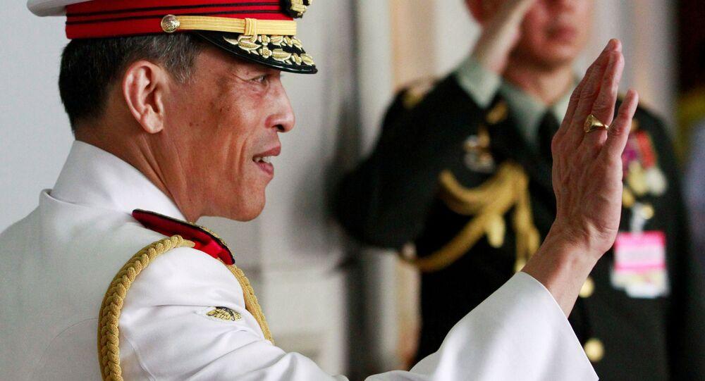 Tajski książę Maha Vajiralongkorn