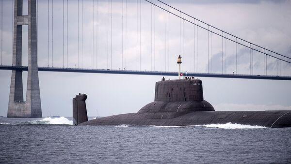Krążownik podwodny Dmitrij Donskoj z napędem atomowym - Sputnik Polska