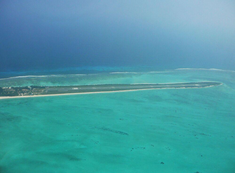 Port lotniczy na wyspie Agatti w Indiach