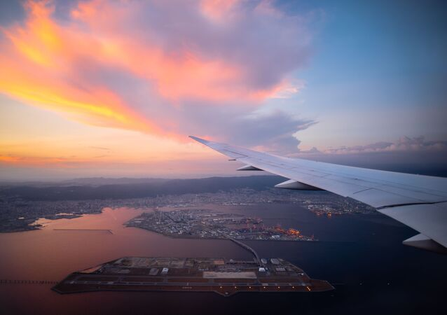 Międzynarodowe lotnisko Kansai, Osaka, Japonia