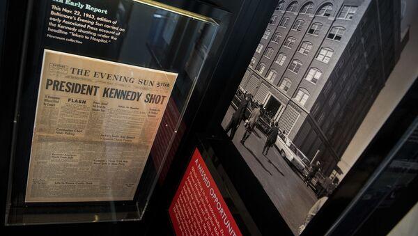 Gazeta z informacją o zabójstwie Kennedy'ego - Sputnik Polska