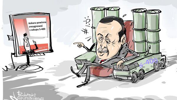Ankara powinna zrezygnować z zakupu S-400 - Sputnik Polska