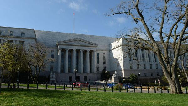 Siedziba Izby Reprezentantów Kongresu USA w Waszyngtonie - Sputnik Polska