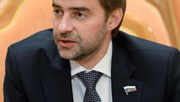 Członek Komisji do Spraw Zagranicznych Dumy Państwowej Siergiej Żelezniak - Sputnik Polska