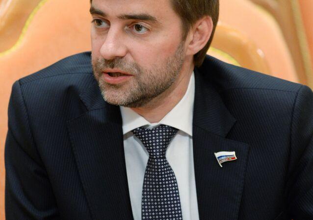 Członek Komisji do Spraw Zagranicznych Dumy Państwowej Siergiej Żelezniak