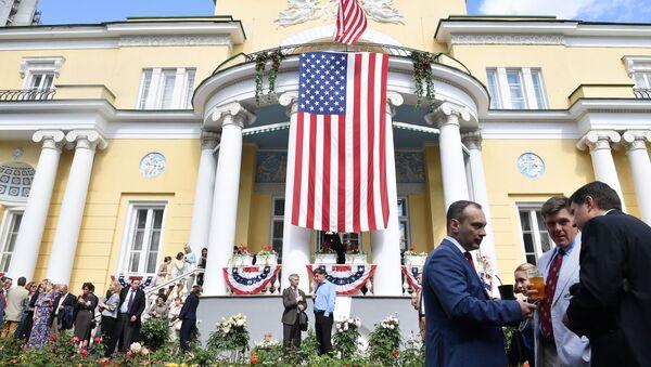 Rezydencja amerykańskiego ambasadora w Rosji - Sputnik Polska