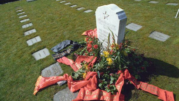 Pomnik żołnierzy radzieckich poległych w Norwegii w latach 1939-1945 - Sputnik Polska
