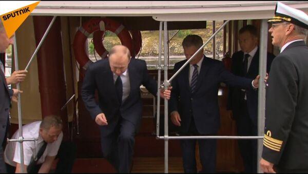 Wizyta Władimira Putina w Finlandii - Sputnik Polska