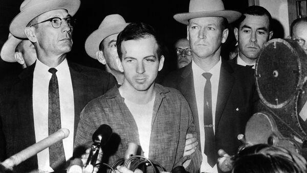 Zabójca prezydent USA Johna Kennedyego Lee Harvey Oswald - Sputnik Polska