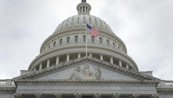 Budynek amerykańskiego Kongresu w Waszyngtonie - Sputnik Polska