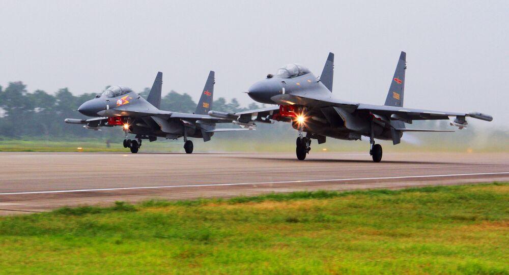 Samoloty SU-30 Chińskich sił powietrznych