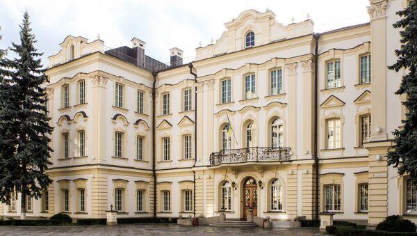 Pałac Klowski, rezydencja Sądu Najwyższego Ukrainy w Kijowie - Sputnik Polska