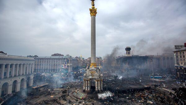 Majdan Niezależności w Kijowie - Sputnik Polska