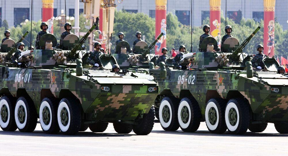 Defilada wojskowa. Pekin