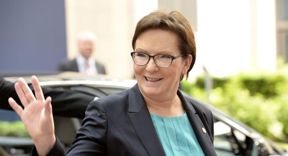 Premier Polski Ewa Kopacz