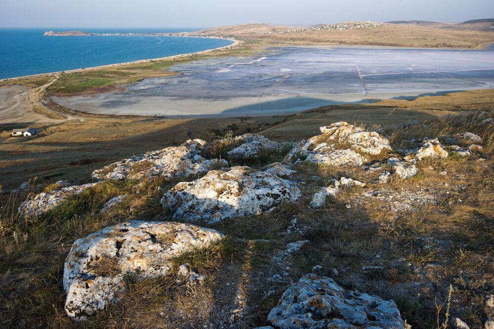 Jezioro Czokrak na Krymie