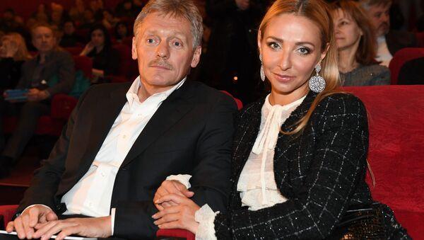 Dmitrij Pieskow z żoną Tatianą Navką - Sputnik Polska