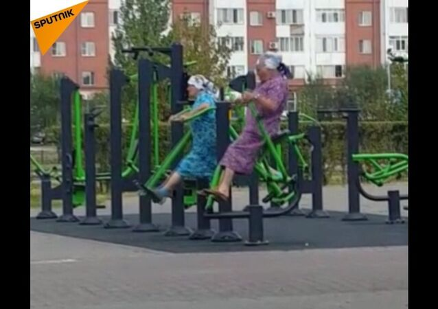 Fitness babuszki