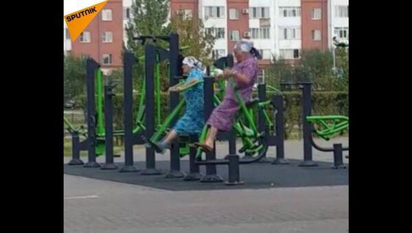 Fitness babuszki - Sputnik Polska