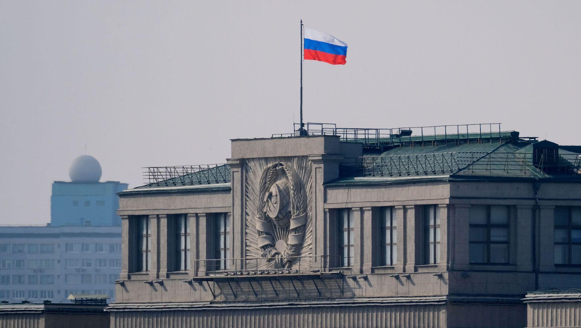Siedziba Dumy Państwowej Rosji w Moskwie - Sputnik Polska, 1920, 16.05.2021
