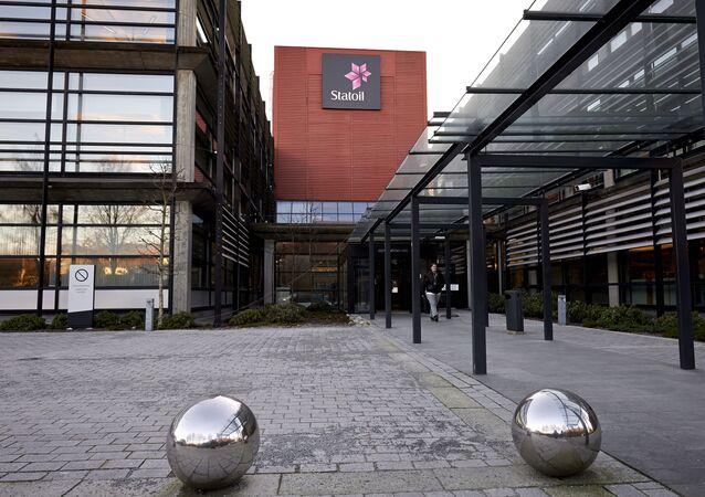 Biuro grupy naftowej Statoil w Stavanger, Norwegia