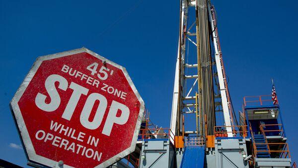 Złoże gazu łupkowego w Pensylwanii, USA - Sputnik Polska