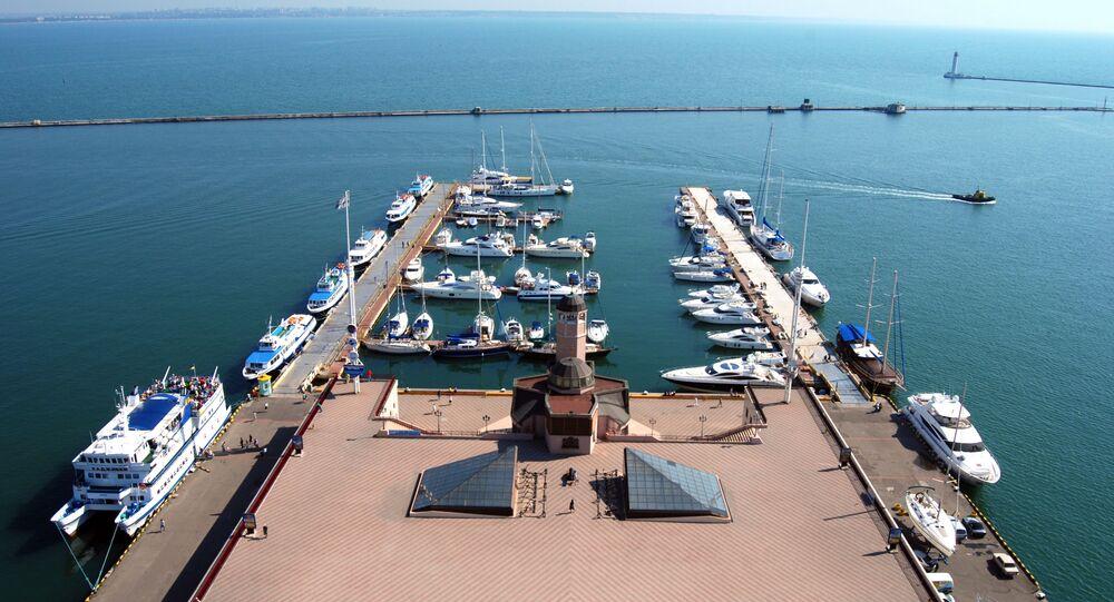 Przystań dla jachtów i kutrów w Odessie