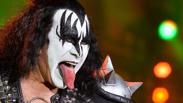 Frontman zespołu Kiss Gene Simmons. - Sputnik Polska
