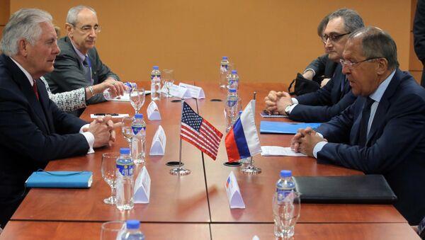 Rozmowa ministrów odbyła się podczas spotkania szefów MSZ krajów ASEAN w Manili. - Sputnik Polska