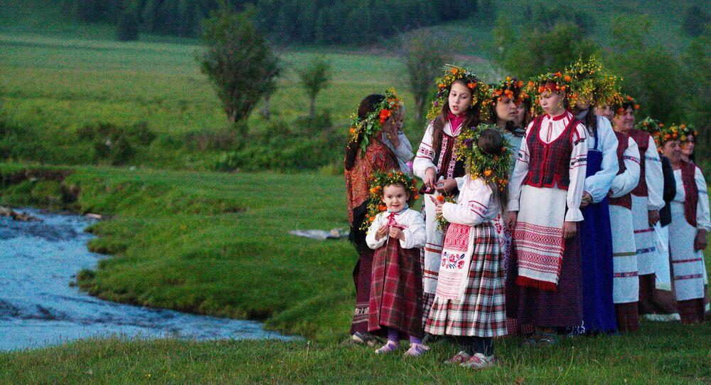 Święto ludowe w obwodzie irkuckim.