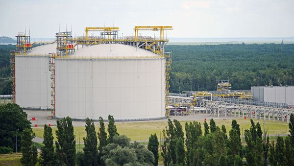 Terminal gazowy w Świnoujściu, Polska - Sputnik Polska