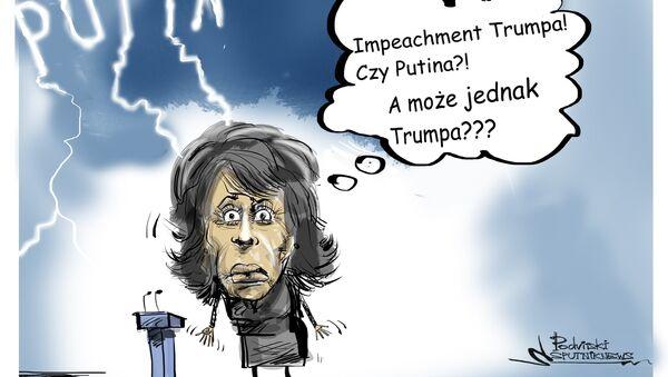 Impeachment Trumpa - Sputnik Polska