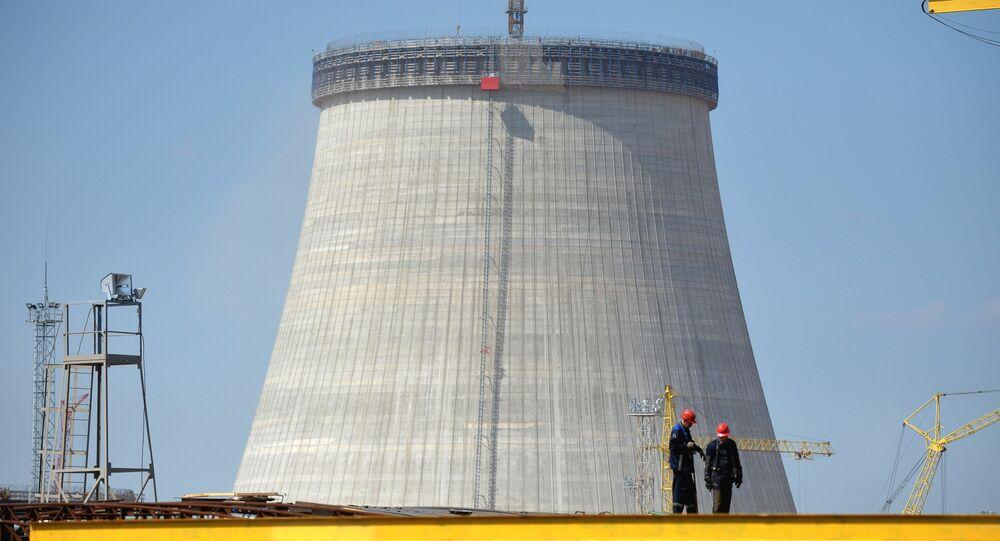 Budowa elektrowni jądrowej w pobliżu miasta Ostrowiec, Białoruś