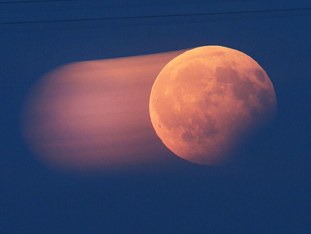 Częściowe zaćmienie Księżyca, Niemcy