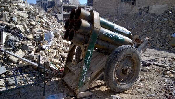 Broń terrorystów w wyzwolonym Aleppo - Sputnik Polska