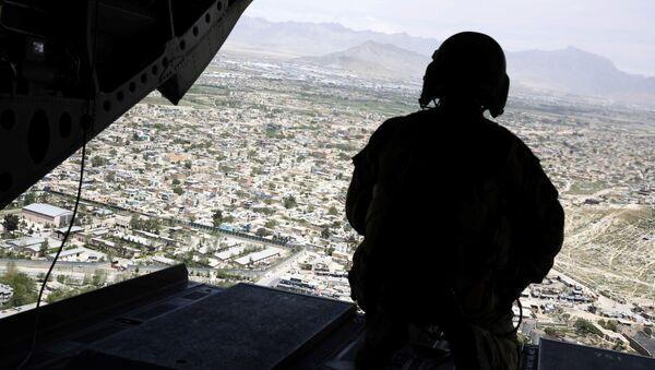 Amerykański żołnierz w Afganistanie - Sputnik Polska