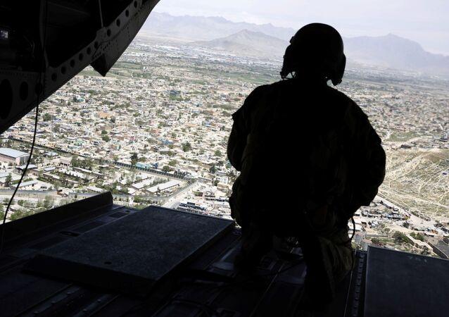 Amerykański żołnierz w Afganistanie