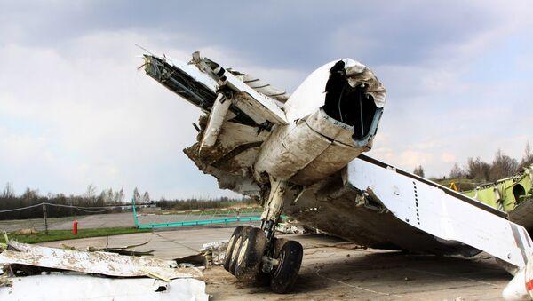 Wrak Tu-154 w Smoleńsku - Sputnik Polska
