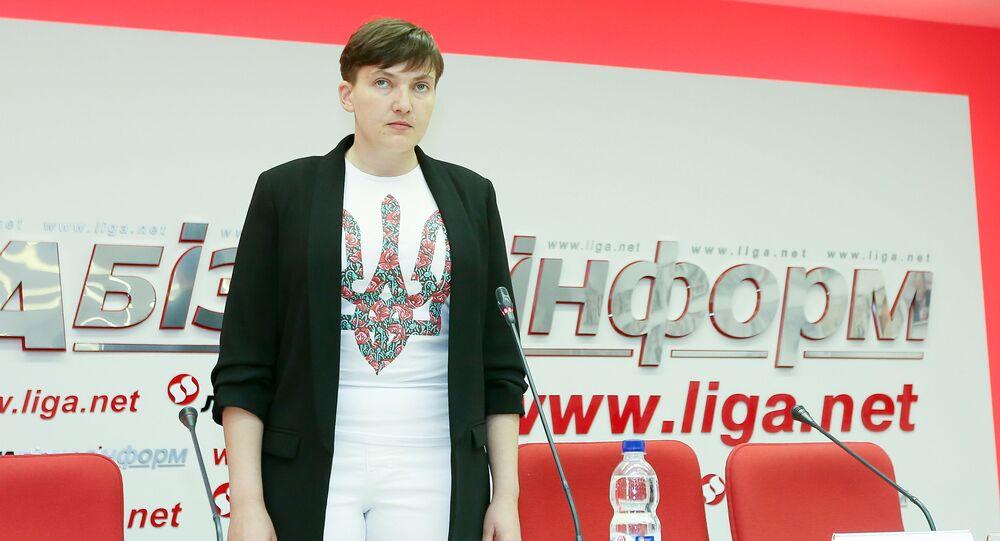 Deputowana Rady Najwyższej Nadieżda Sawczenko