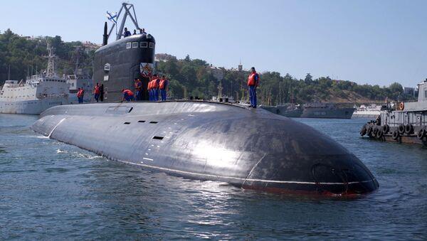 Nowy okręt podwodny Krasnodar w Sewastopolu - Sputnik Polska