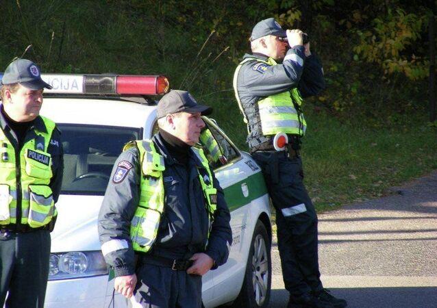 Litewska policja