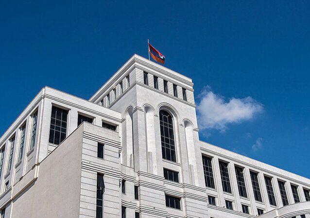 Siedziba Ministerstwa Armenii