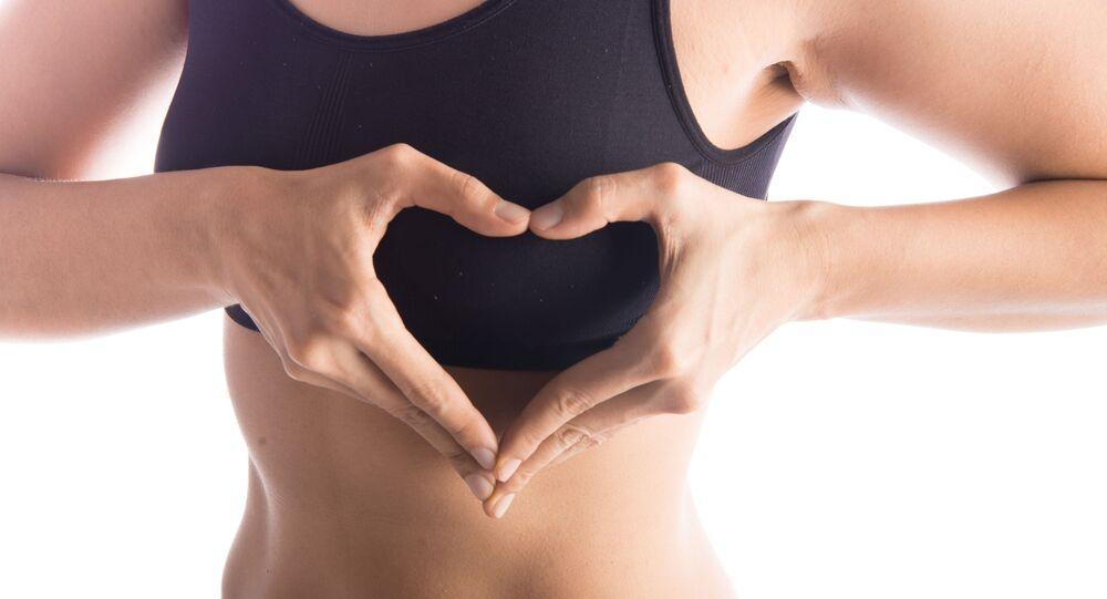 Heart-shaped Boob Challenge