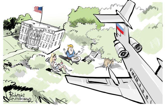 Rosyjskie samoloty przeleciały nad Białym Domem