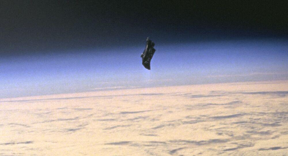 Niezidentyfikowany obiekt latający o nazwie kodowej Czarny Rycerz