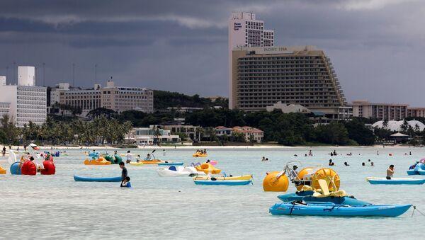 Turyści na Guam - Sputnik Polska